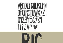 Font / by Brea Smith
