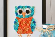 Owl crafts...of course! / What's cuter than owl crafts for kids. Hoot hoot!