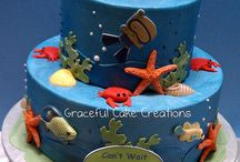 Under the Sea Baby Shower Cake / Under the Sea Baby Shower Cake Ideas to have a fun summer or spring time theme. / by Maternity and Baby Showers