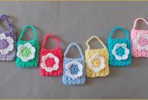 Crochet Bags, Baskets, Purses