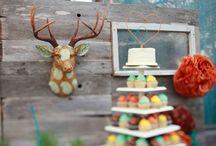 Antlers / Deer Wedding Theme