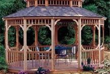 Gazebos / Wood Pergolas add style and class to your backyard.