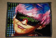 My Crocheted Portraits/Pieces / For all things me, head on over to totallee! [.net!]