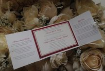 Wedding Invitations / Gorgeous handmade wedding stationery designed and crafted by Louise Kelly Designs