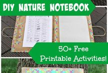 Nature Study Ideas for Kids / Activities and ideas to get kids interested in nature.
