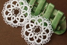 Earrings / Tatting