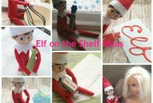Elf on the shelf idea / by Lucy Kells