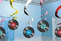 Decoração de discos