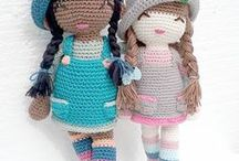muñeca amigurumis