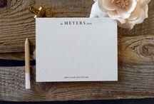 Custom Family Notecard Sets | Sunlit Letterpress