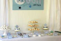 Moon and Stars Baby Shower Theme / Decorating ideas for a moon and stars baby shower