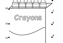 Picture book play-crayon