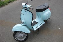Vespa-ing / machinery that goes vroom.  / by Meagan Hodge