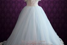 Blue Wedding Dress / Here you will find our latest trendy blue wedding dresses