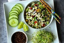 Salads You Can Feast On / raw and plant-based salads