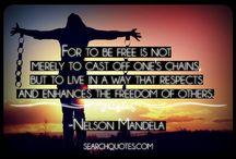 Nelson Mandela Quotes♡♡♡♡