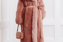 Faux fur coat 2017