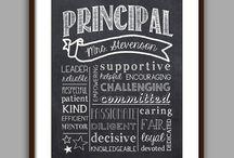 teacher/ principal christmas gifts
