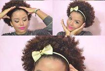 penteados cabelos para curtos e crespos
