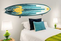 Surfboards & Skateboards / Hit the waves or streets with these board decals!