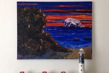 Seascape Paintings / My original paintings