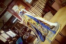 Wayang Golek / Wooden puppets