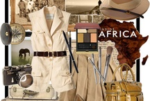 Safari Style / Inspired by natural safari style which will never go out of fashion - ageless