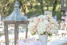 Vintage wedding displays