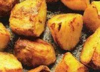 geroosterde aardappelen.