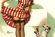Pin-ups by Gil Elvgren