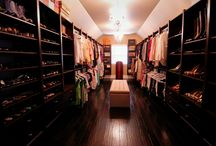 Victory Closet with Coffee finish