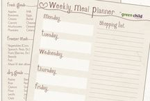Meal planning / Dinner and shopping organization