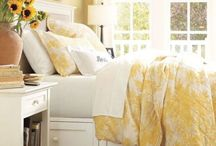 Yellow / Yellow bedroom and accent inspiration.