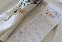 Diseño papeleria para bodas