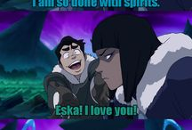 Avatar: The last Airbender and Legend of Korra