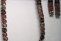 Beads - tubes, spirals