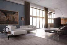 TouteLaNuit interiors / Interior design, home decor, architecture, interior and exteriors