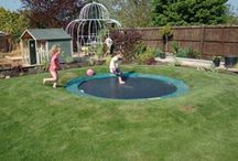 Fun for the Kids (and big kids too) / Sand boxes, trampolines, slides, swing sets more.