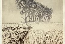 Etching and drypoint / Etchings we admire.