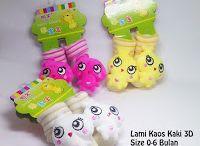 Kaos Kaki Bayi dan Anak / Lami Kaos Kaki 3D