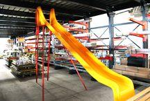 La nostra produzione / 2 siti industriali, le migliori materie prime di qualità per giochi e arredo urbano Giochipark