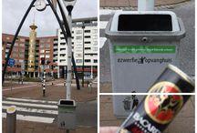 #Zwerfie-opvanghuis / Momenteel worden er in héél Nederland #zwerfie-opvanghuizen geopend! De initiatiefnemers hopen hiermee op een ludieke manier aandacht te vragen voor #zwerfafval