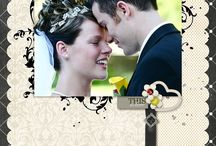 scrapbook wedding album ideas