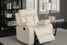 Avery Leather Glider Recliners / Meridian Furniture - kick back and relax with this plush and comfortable Leather Glider Recliner. The Avery  also comes in a Love Seat with Console as well as a dual reclining Sofa.