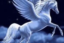 Alicornios en las nubes
