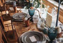WEDDING | table decoration ideas / Ideas for wedding tables / wedding reception, wedding table decorations