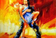 DANCE & BALLET /  Contact us infoayaneart@gmail.com Visit us www.ayaneart.com #ayaneart #handmade   #pop #popart #vintage #tribal #orientalstyle  #abstract #trends #view #landscape #landscapes  #picture #painting #panel #canvas #oil colors #oil paint #art #artist #retrospective