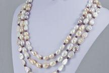 pearls & sarovski