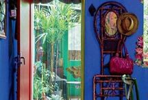 Mexican interior inspiration / colour clash - optimistic and positive way of living