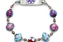 Lovely High Fashion Medical ID Bracelets for Women / Your medical id bracelet can be high fashions. / by Peg Corwin